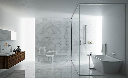 The floor of the shower room is uneven. Do you want to smash the floor tiles? What other remedies?