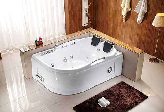 A006 1700mm 2 Person Indoor Jacuzzi Bathtub