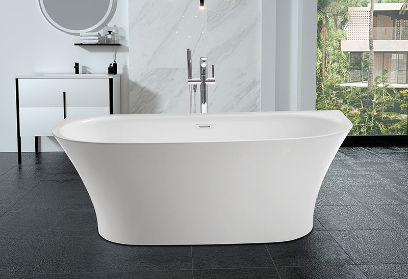 67 inch Acrylic Freestanding Bathtub