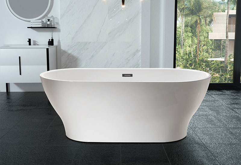 67 Inch Moden Stand Alone Bathtub