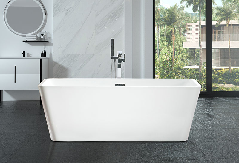 59 63 67 inch Rectangular Acrylic Bathtubs