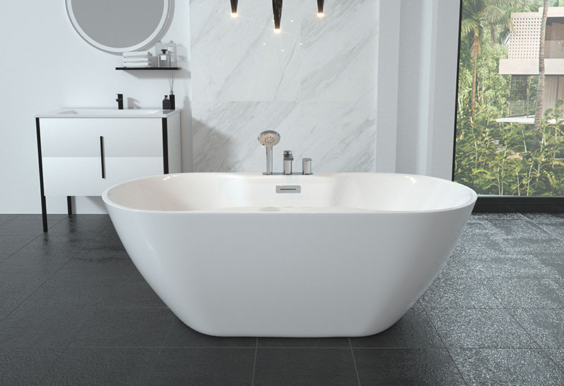 Stand Alone Soaking Bath tub