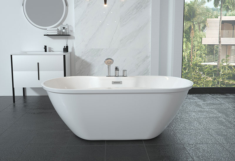 59 67 inch Freestanding Bathtub Cheap
