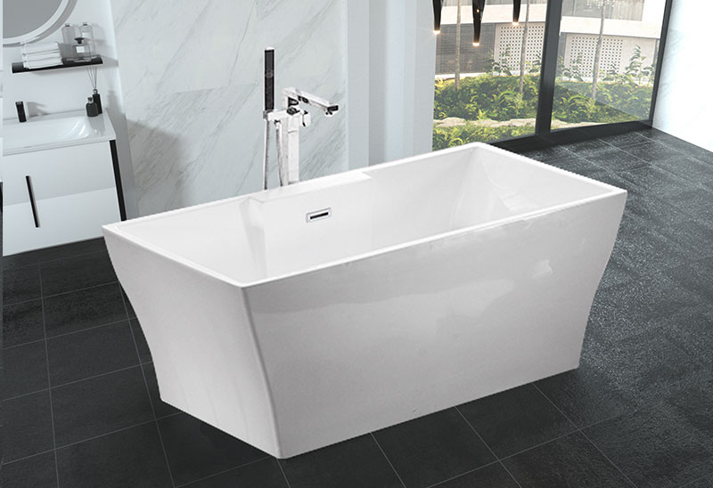 Acrylic Freestanding Soaking Bathtub