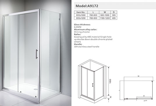 How to install shower rooms of various shapes?