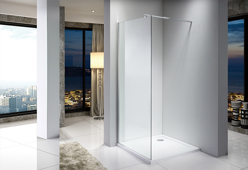 A20P 6/8/10mm Glass Walk In Shower Enclosure