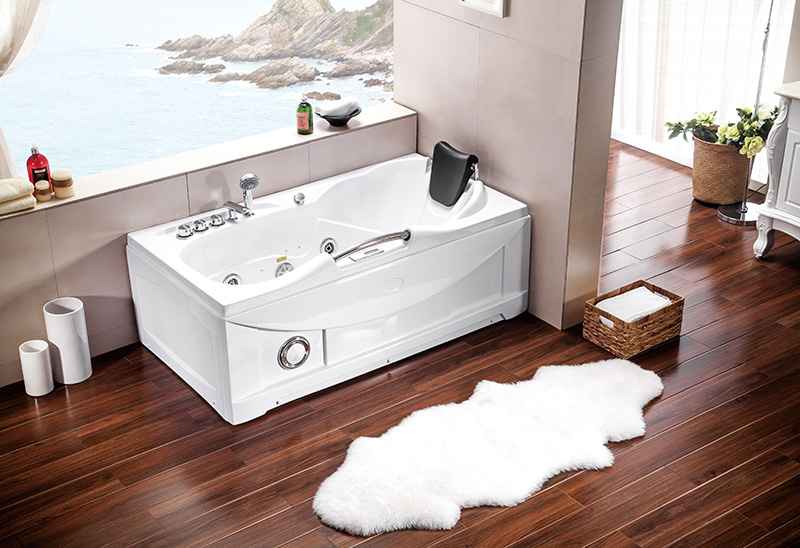 A002 1530mm Whirlpool Jacuzzi Bathtub