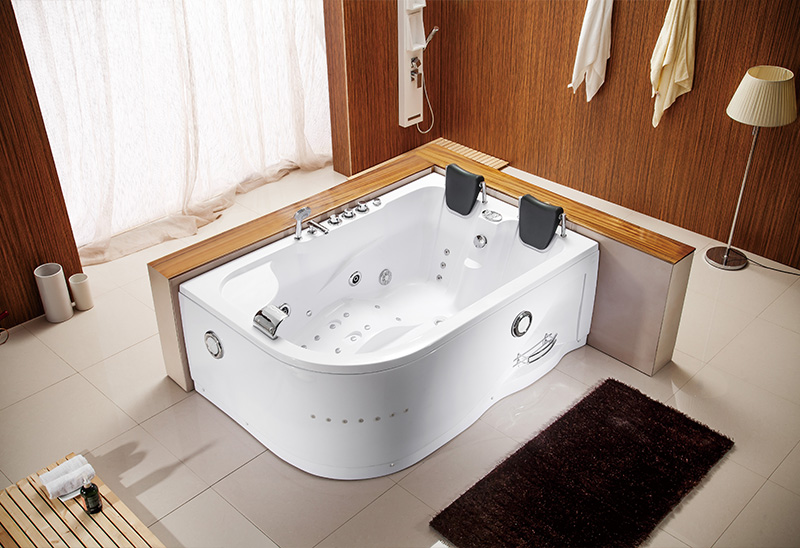A052 180cm Two Person Whirlpool Jacuzzi