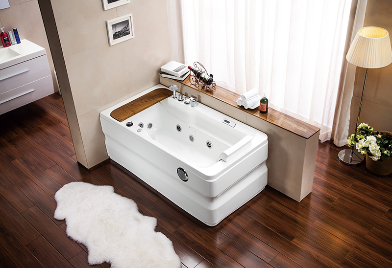 A062 140 150 160cm Whirlpool Massage Bathtub with Whirlpool Jacuzzi