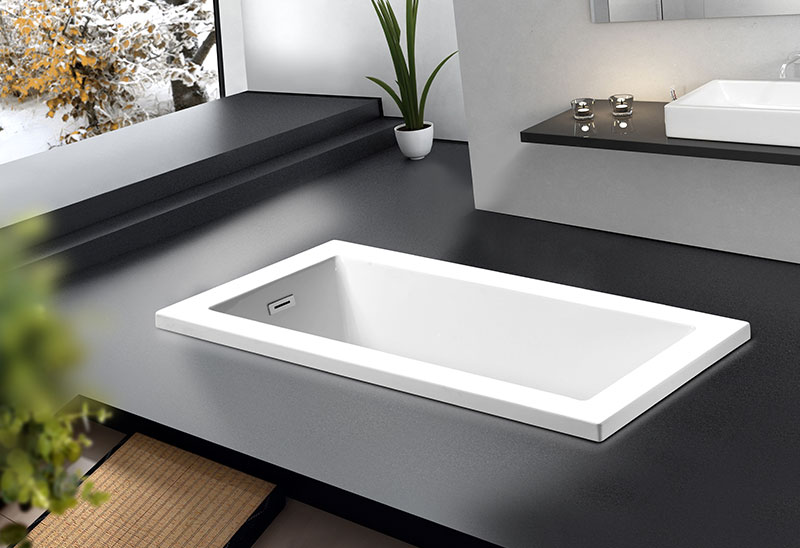 MV070K 150 167cm Build-in Bath tub