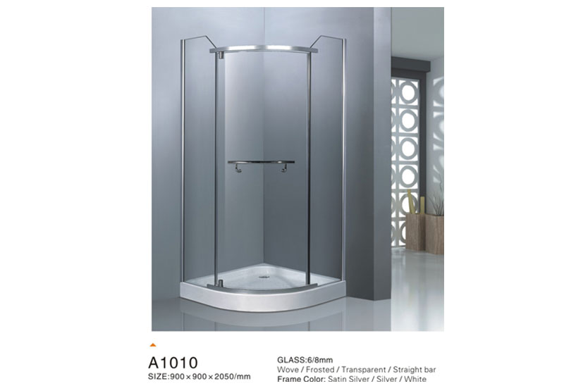 What is the difference between a framed and frameless shower room?