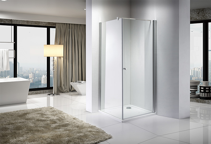 What are the shapes of the shower room?