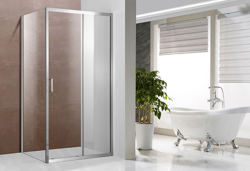 A1331 5/6mm Glass Rectangular Sliding Shower Enclosure