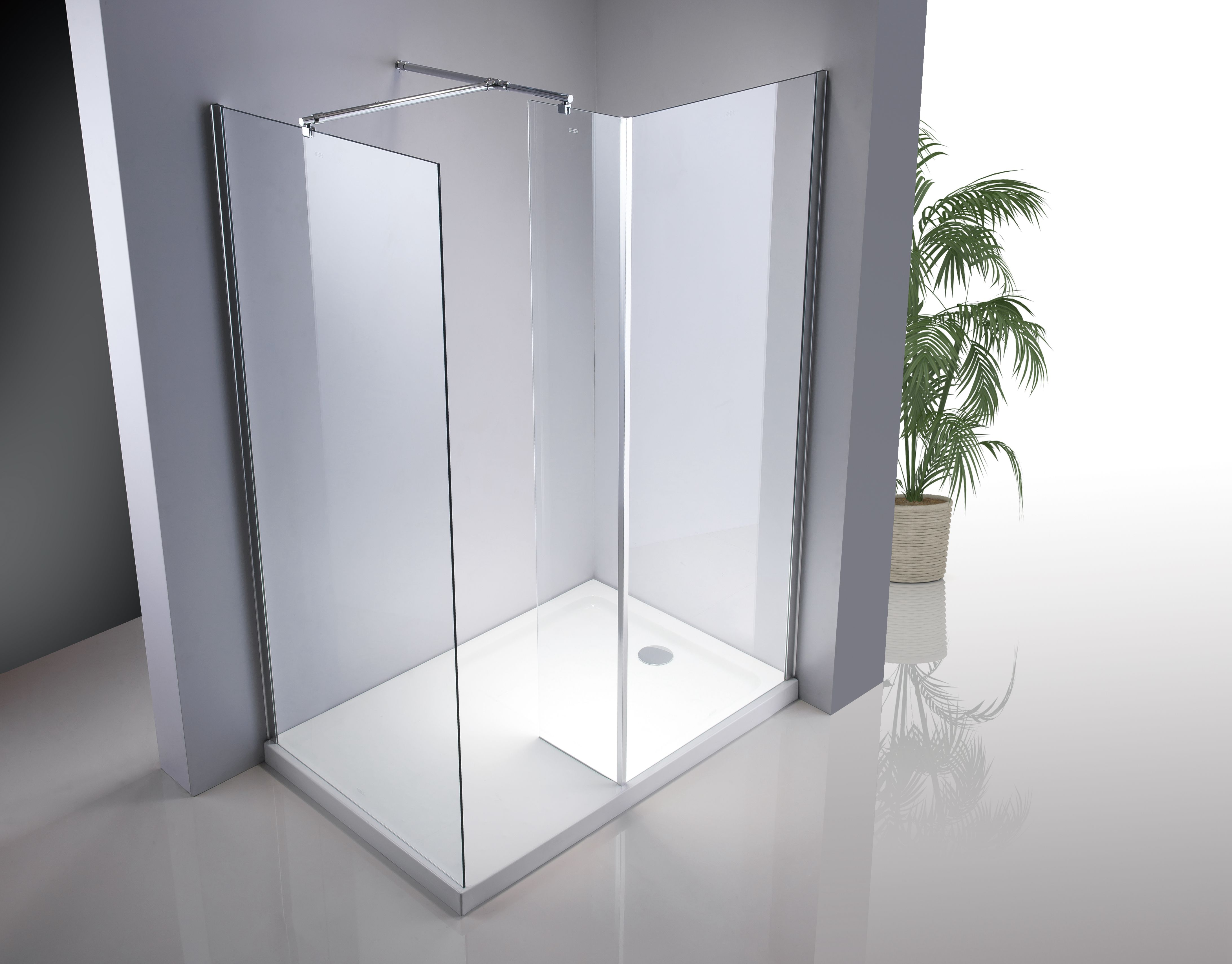 How to distinguish between stainless steel and aluminum alloy in shower room?