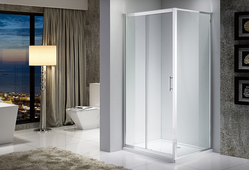 A1531 5/6/8mm Glass Rectangular Sliding Shower Enclosure