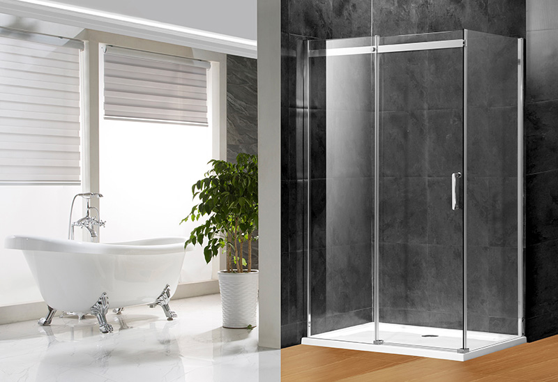 A1631 6/8mm Glass Rectangular Shower Enclosure