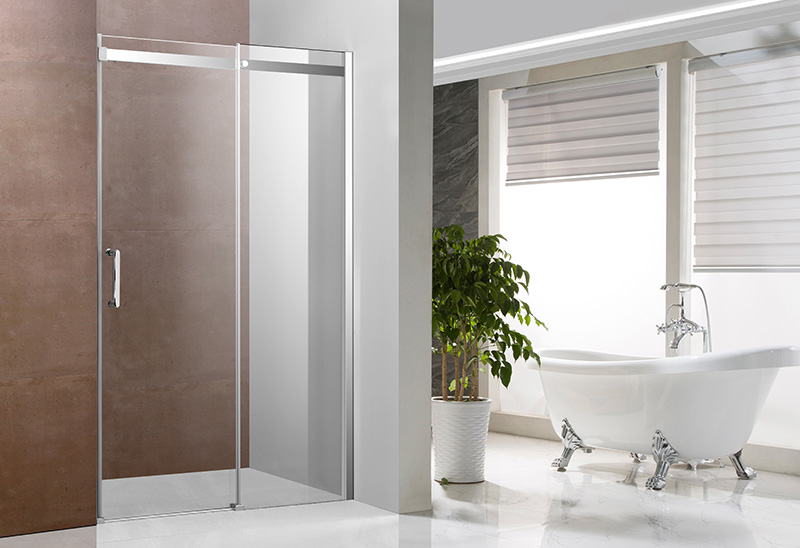 A1641 6/8mm Sliding Shower Door Straight Shower Enclosure