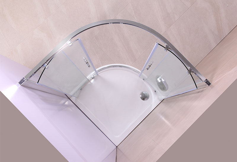 Is the thicker the shower glass, the safer it is?