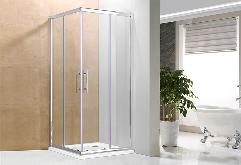 1721 Square Sliding Shower Enclosure