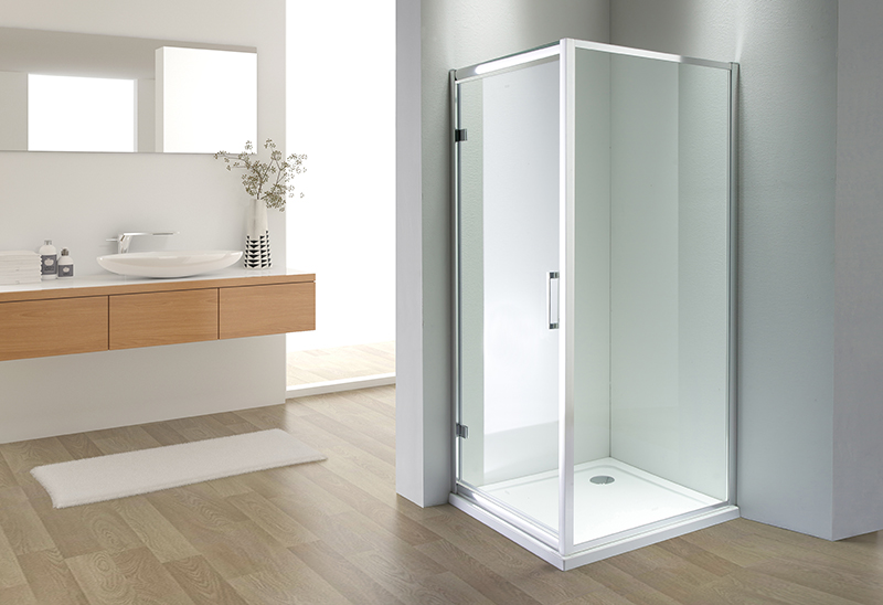 A1825 4/5/6mm Glass Sliding Door Square Shower Room