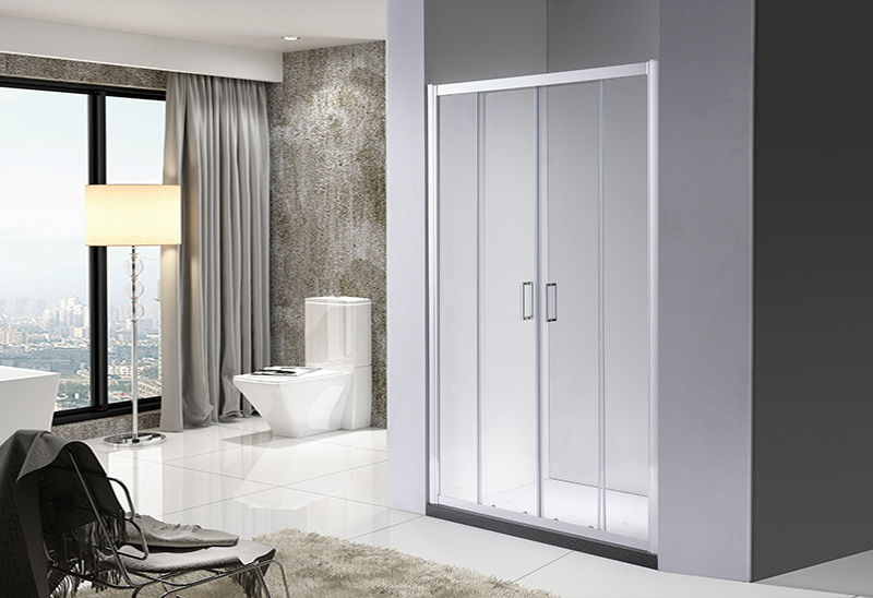 A1841-2 4/5/6mm Glass Sliding Shower Doors Straight Shower Room