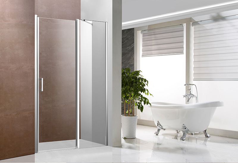642-5 5/6mm Bathroom Glass Shower Door