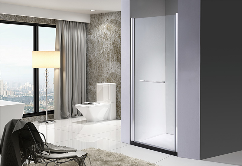 642-6 5/6mm Pivot Open Glass Bathroom Glass Shower Door