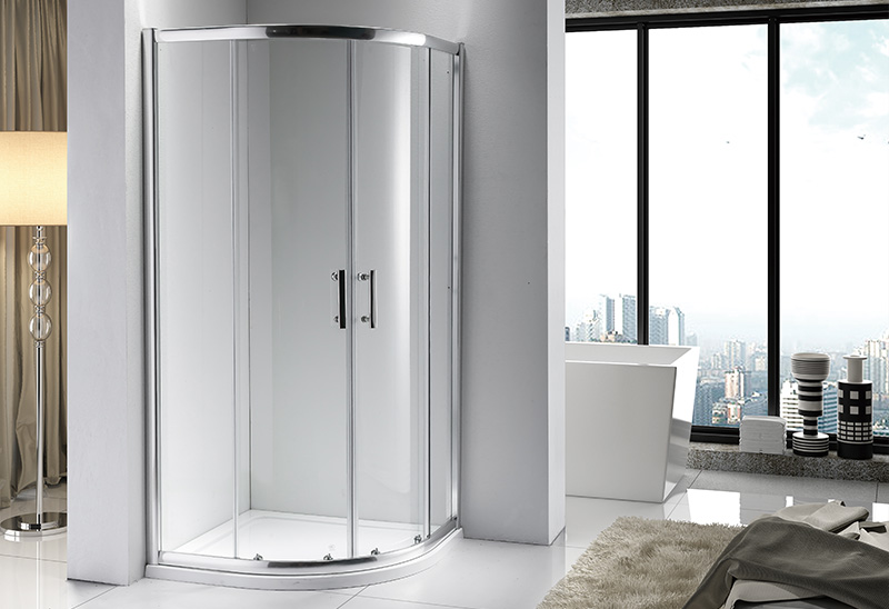 A9170 5/6/8mm Quadrant Sliding Shower Enclosure