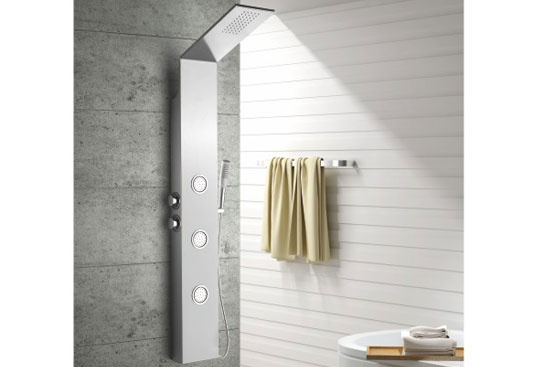 MV-X163 Hot Sale Thermostatic Stainless Steel  Shower Panel