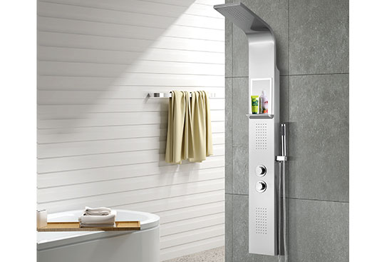 MV-X192 Large Thermostatic Shower Panel