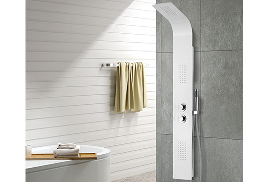MV-X194 Aluminum Alloy Thermostatic Shower Panel