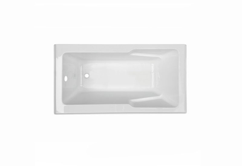 MV060k-1 151cm Square Build-in Bathtub Acrylic