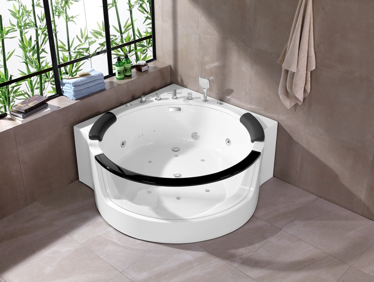 A071 150cm Round Jacuzzi Whirlpool Massage Bathtub