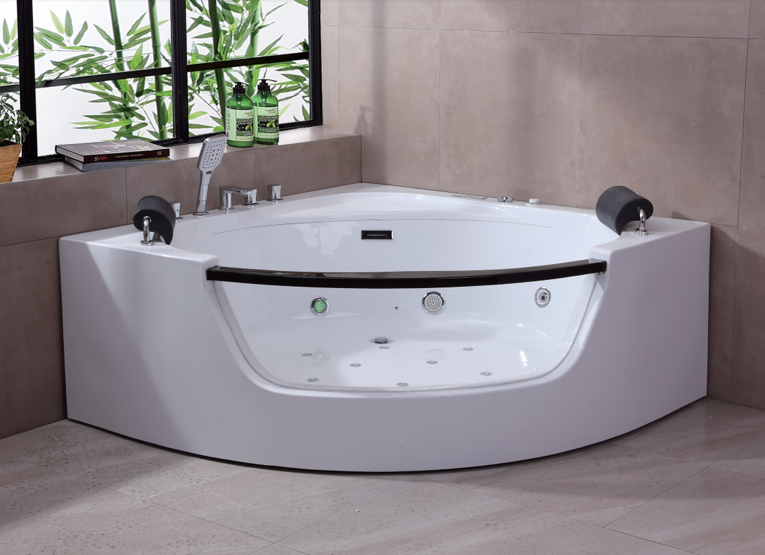 A073 150cm 2 person Jacuzzi Whirlpool Massage Bathtub