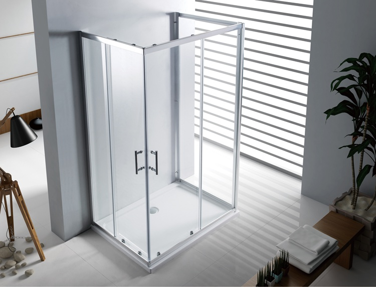 A1800U 4/5/6mm Sliding Glass Shower Room U shape