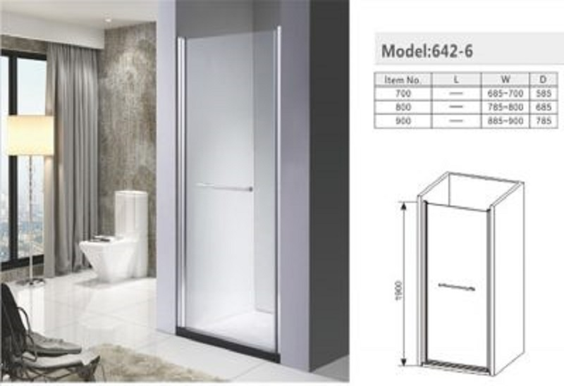 What are the advantages and characteristics of the overall shower room?